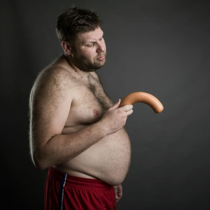 sad about sausage