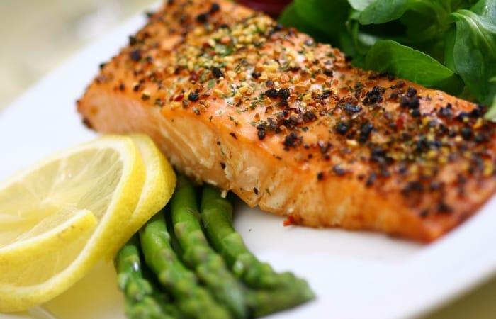 salmon shot