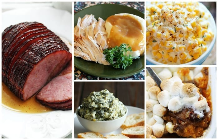 slow cooker thanksgiving foods