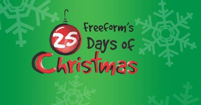 Freeform Christmas Schedule.Freeform S 25 Days Of Christmas Marathon Schedule