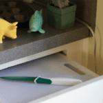 Cutting Board Drawer Hack