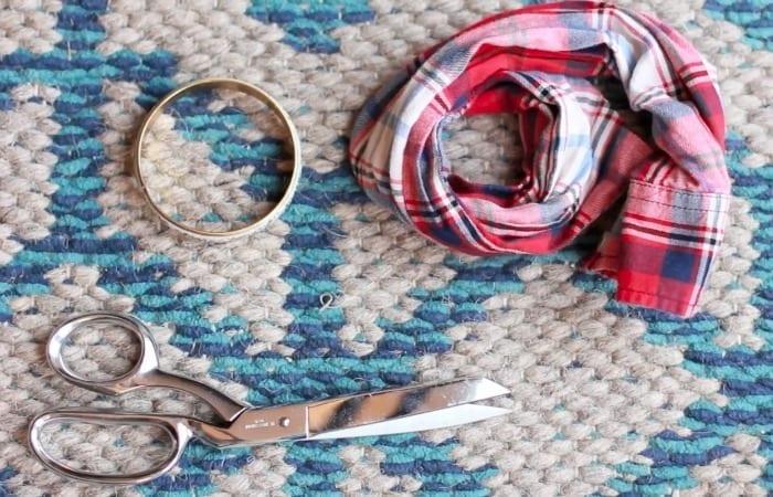 Flannel Shirt Bracelet Hack