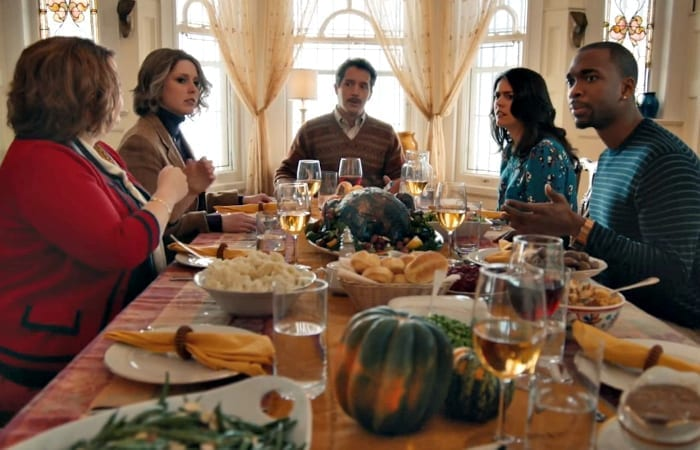 5 Conversations That'll Be Happening At Every Table This Thanksgiving (and how to get out of them)