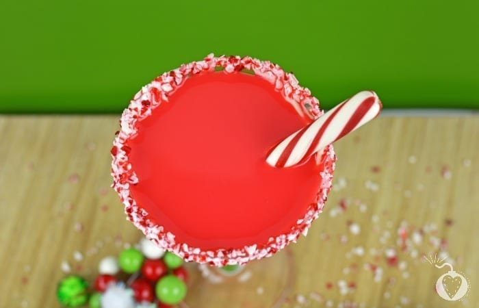 White Chocolate Peppermint Cocktail