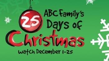 abc family 25 days of chrostmas marathon schedule