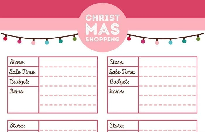 This Printable Christmas Planner Is Everything You'll Need ...