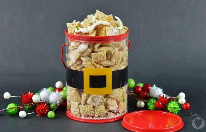 sugar cookie chex mix featured