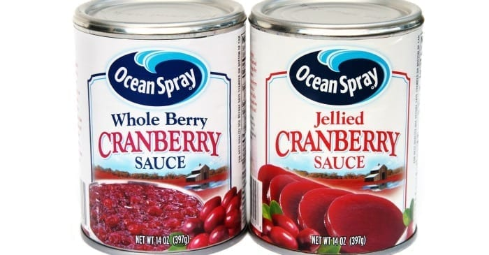 upside down cranberry sauce