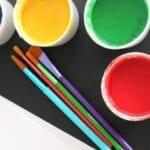 2 Ingredient Homemade (Edible) Paint