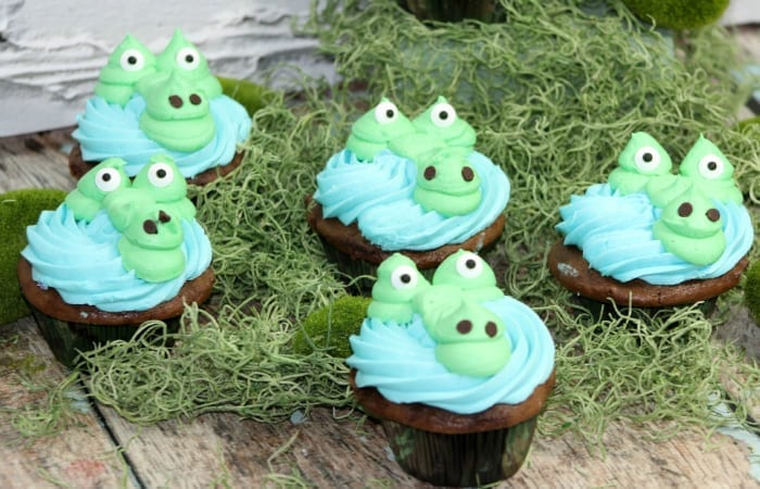 Gator cupcakes for kids