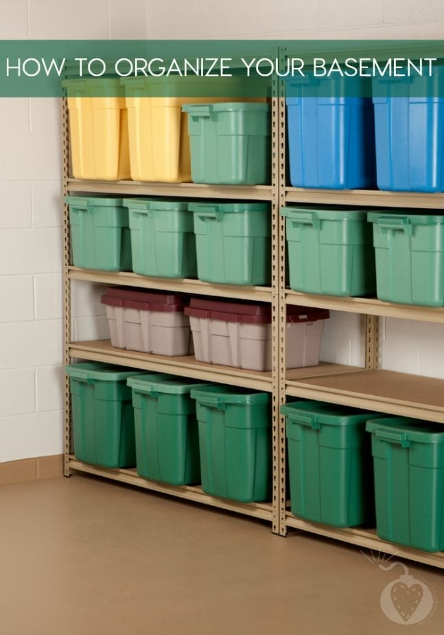 How To Organize Your Basement