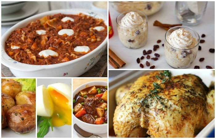 Pressure cooker favorites