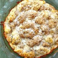Cheesy Braided Garlic Bread - Easiest Dough Ever!