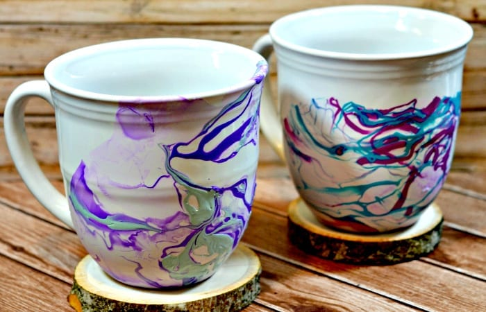 Marble Mugs – Cute Gift Idea