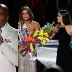 Steve Harvey Crowns The Wrong Girl Miss Universe Making For A Really Awkward Moment.