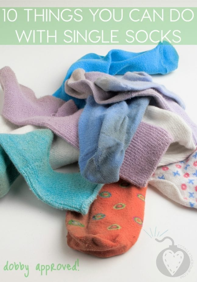 10 Things You Can Do With Single Socks