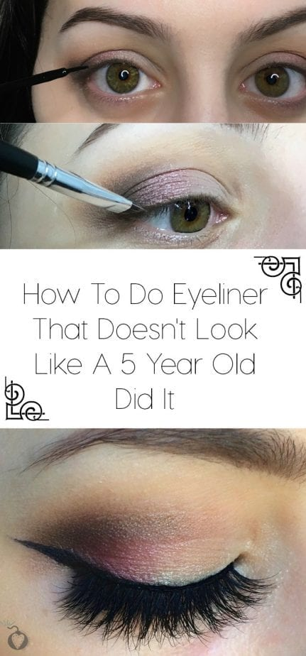 how to do perfect eyeliner