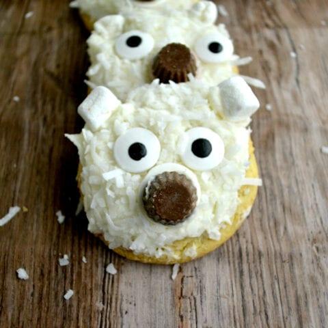 Winter Bear Kids Snack