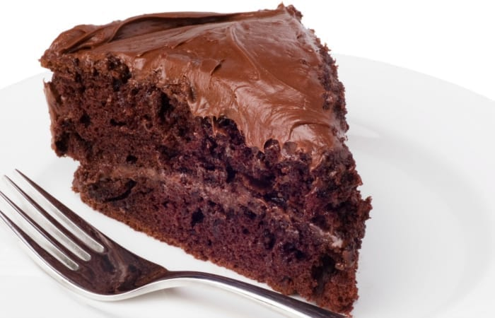 Chocolate Depression Cake