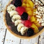 Mixed Fruit Smoothie Bowl