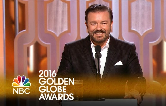 Ricky Gervais Just KILLED IT At The Golden Globes
