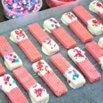 Sweetheart Cheesecake Wafers
