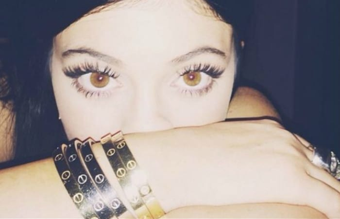 Kylie Jenner Is In A Tight Spot…At Least Her Wrist Is…