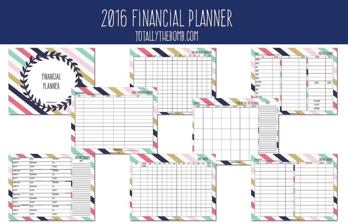 financial calendar template
