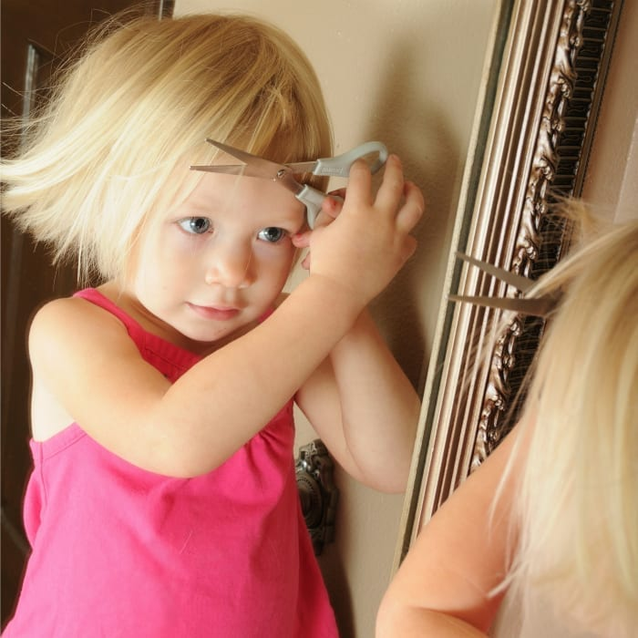 Dear Mom Of The Child Who Just Cut Her Own Hair