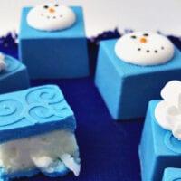 Elsa's Frozen Candies with Coconut Buttercream Filling