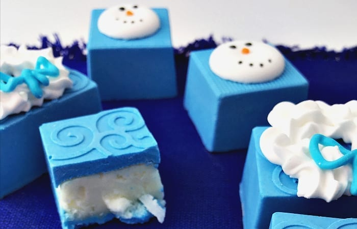 Elsa's Frozen Candies with Coconut Buttercream Filling