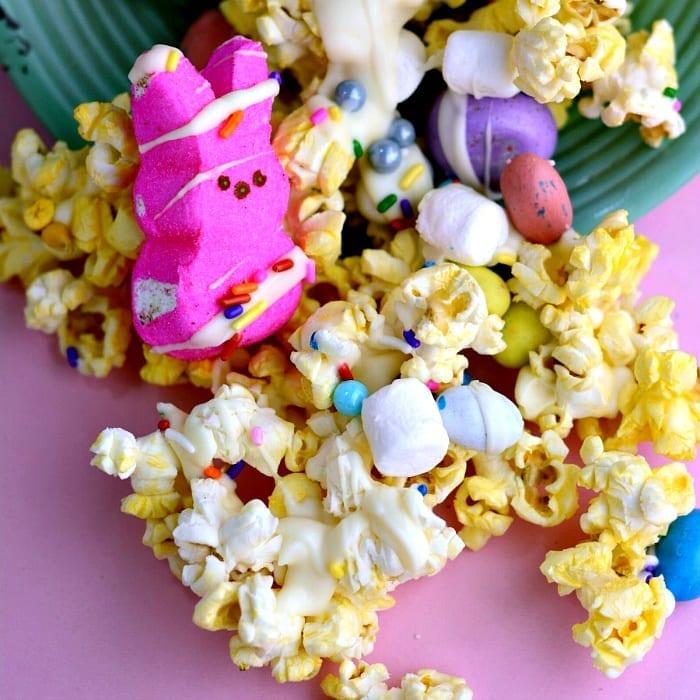 Easter Popcorn Snack