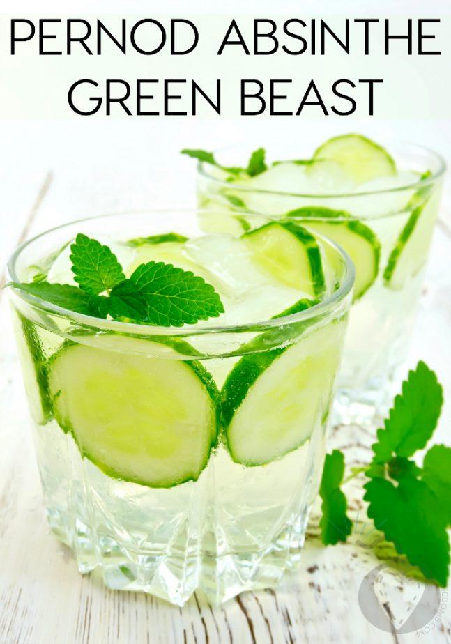 Pernod Absinthe Green Beast
