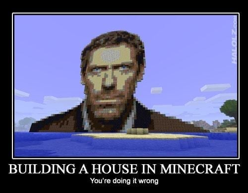 Minecraft House MD