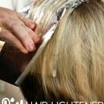make your own hair lightener