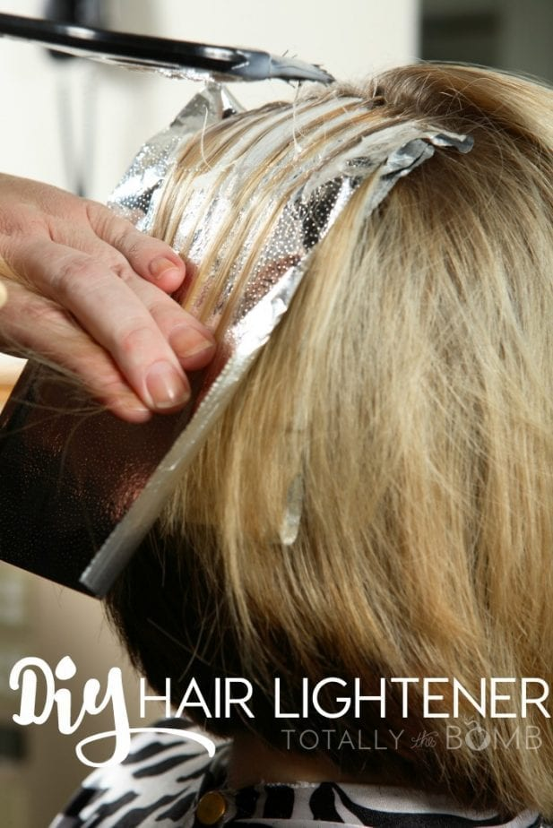 Diy Hair Lightener For No Damage Highlights