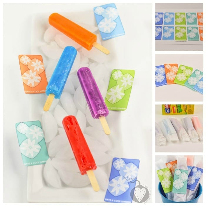 Have a COOL Summer Popsicle Gift Square