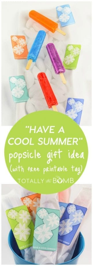 photograph regarding Have a Cool Summer Printable named Consist of a Interesting Summertime Popsicle Reward + Free of charge Printable