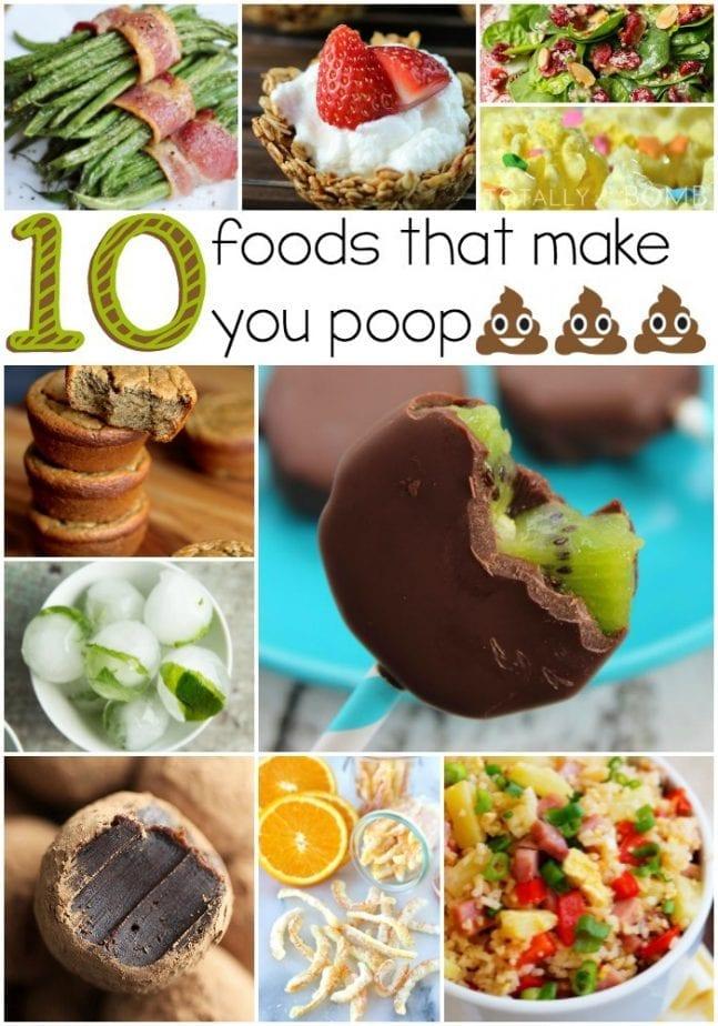 10 foods that make you poop