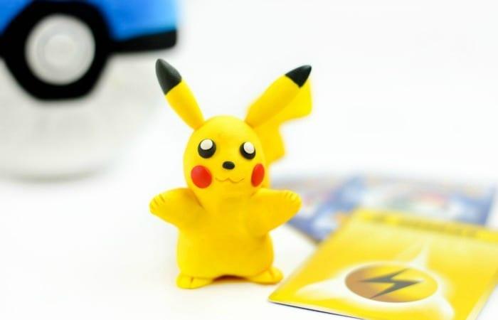 DIY Pikachu Clay Figure
