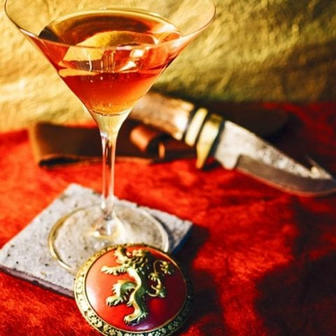 Pay Your Debts Game of Thrones Cocktail