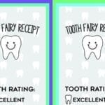 Free Printable Tooth Fairy Receipts