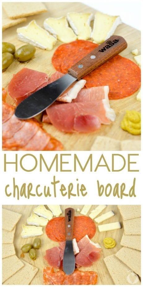 Homemade Charcuterie Board
