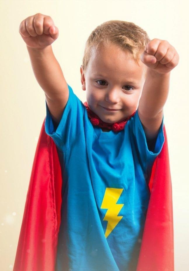 Little Boy Iron Man