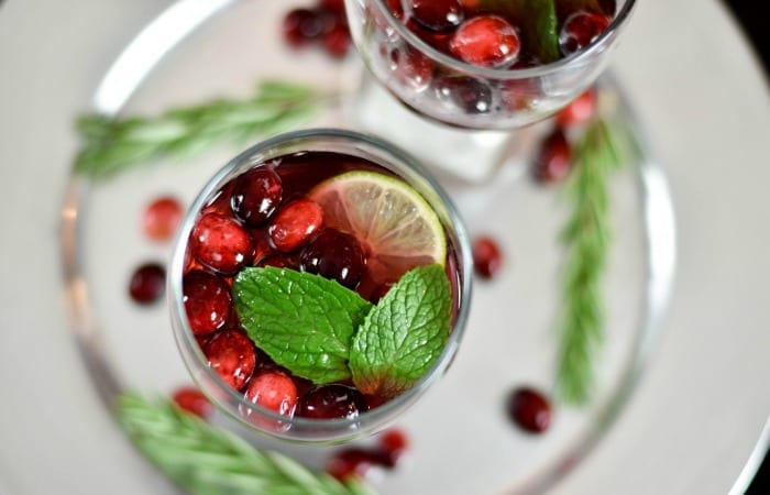 Sparkling Christmas Punch