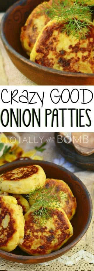forget onion rings these onion patties are going to rock your world