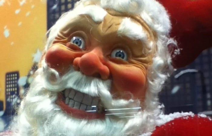 Santa Is Creepier Than The Creepiest Clown
