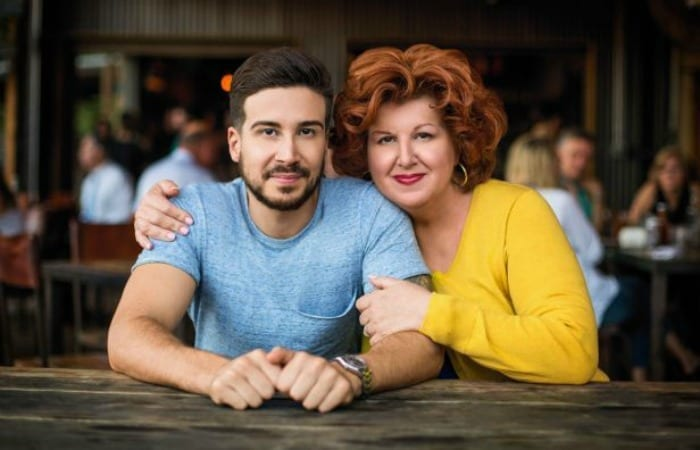 Foodie Fun With Jersey Shore's Vinny Guadagnino And His Ma, Paola!