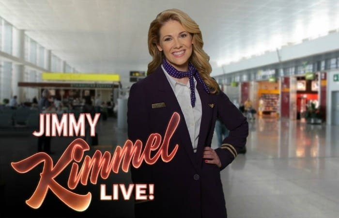 United Airlines Has A New Commercial, Thanks To Hilarious Jimmy Kimmel!
