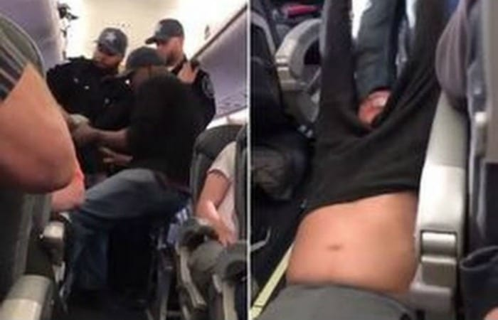 Shocking Video Shows Doctor Brutalized By Security, Dragged Off Overbooked Flight